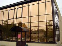 Дзеркальна плівка для вікон архітектурна плівка дзеркала тонування вікна