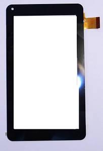 "Оригинальний Сенсор (Тачскрин) для планшета 7"" Apache V7 Dual Core (A-PL7Vs) 30pin (186х106mm)(Черный)"