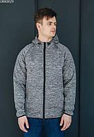 Куртка Staff soft shell run gray серый UKK0029
