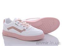 """Кросівки дорослі жіночі весна/осінь 81-34 white-pink (36-41) """"Violeta"""" купити оптом 7км, фото 1"""