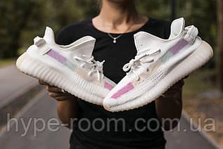 Женские Кроссовки Adidas Yeezy Boost 350 V2 White Raindow адидас изи буст рефлективная полоса