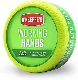O'Keeffe's Working Hands защитный и восстанавливающий крем для рабочих рук, 96 гр , банка
