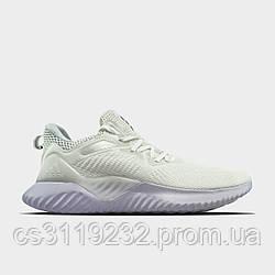 Мужские кроссовки Adidas Alphabounce Instinkt White (белые)