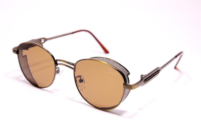 Женские солнцезащитные очки Диор 2162 C3 реплика Коричневые
