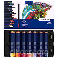Набор цветных карандашей MARCO Chroma 8010-100CB, 100 цветов