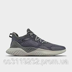 Мужские кроссовки Adidas  Alphabounce Instinct Grey (серые)