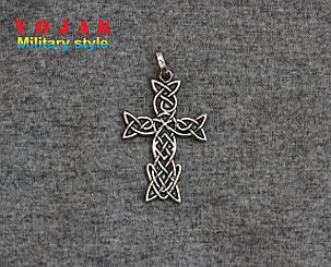 Кулон срібний Хрест