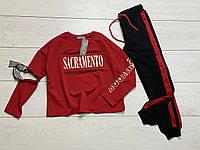 Спортивный костюм для девочек. 110- 140 рост
