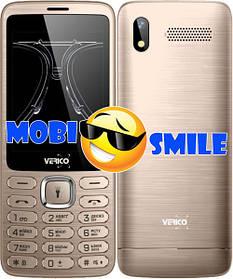 Мобильный телефон Verico Classic C285 Gold Гарантия 12 месяцев