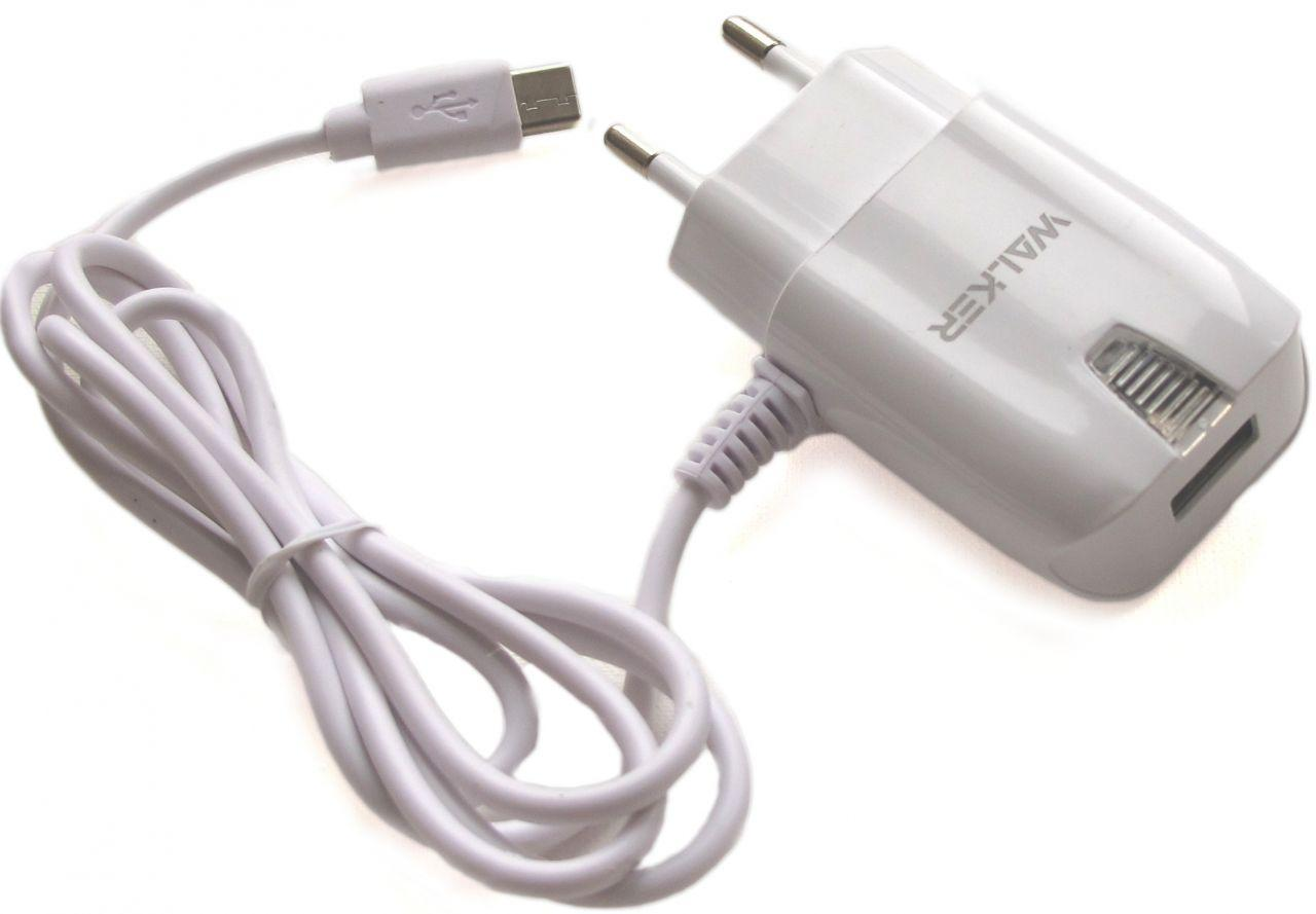 Сетевое зарядное устройство Walker WH-22 Micro USB Сharging 2A White