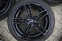 Диски Carmani13 5/120 R19 7.5J ET35 black з Німеччини стан супер!!, фото 1