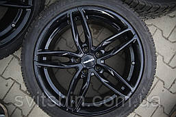 Диски Carmani13 5/120 R19 7.5J ET35 black з Німеччини стан супер!!