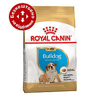 Royal Canin Bulldog Puppy 12 кг корм для цуценят породи англійський бульдог