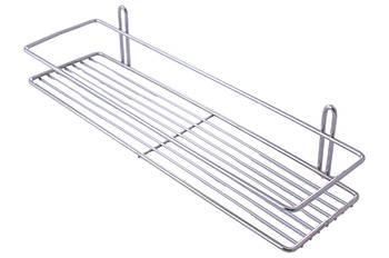 Полиця для ванної FZB - 110 x 400 x 50 мм x 1 пряма нержавійка