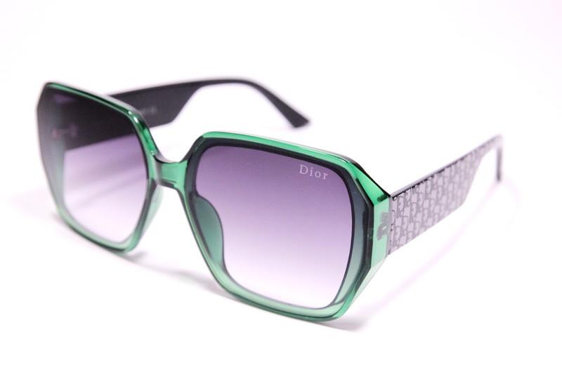 Женские солнцезащитные очки бабочки Диор 2183 C4 реплика с градиентом