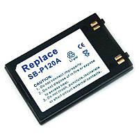 Аккумулятор для фотоаппарата Samsung SB-P120A (1200 mAh)