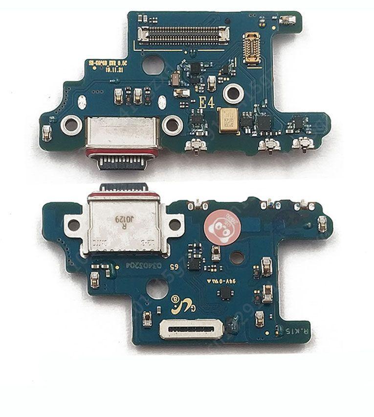 Нижняя плата Samsung Galaxy S20 Plus G985F с разъемом зарядки и микрофоном Original