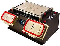 """Сепаратор вакуумный 8.5"""" Aida A-978 (19 х 11 см) 3 в 1, со встроенным компрессором для демонтажа дисплейных, фото 1"""