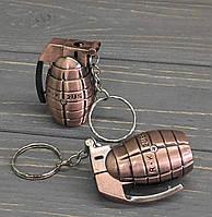 Газовая зажигалка-брелок в виде гранаты, фото 1