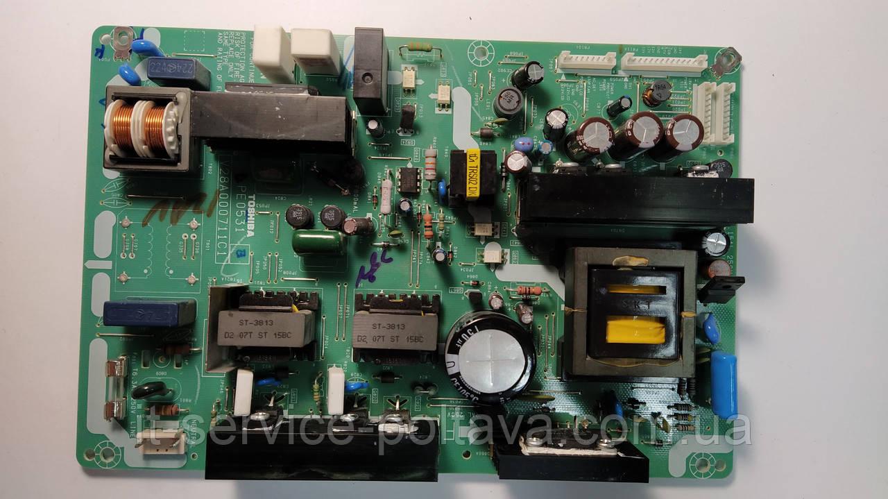 Блок живлення PE0531 V28A000711C1 для телевізора Toshiba 37xv550p