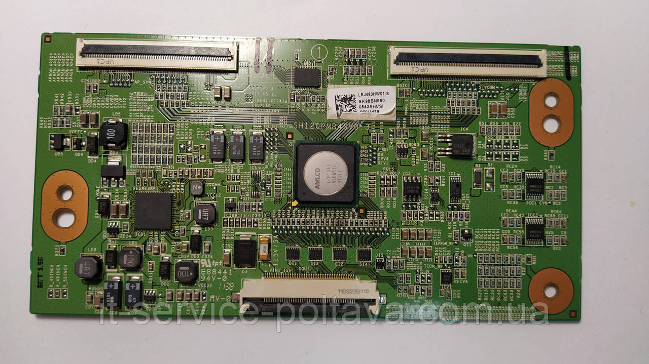 Плата T-Con BN41-01743 (SH120PMB4SV0.3) телевізор SAMSUNG UE46D6500VS