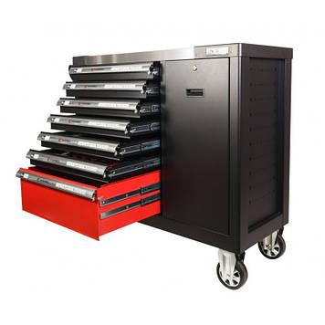 Тележка инструментальная 7-и полочная(черная) с набором инструментов 288пр, 990х1140х450мм