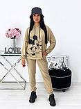 Спортивний костюм жіночий з Міккі Маусом 24-1417, фото 2