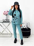 Спортивний костюм жіночий з Міккі Маусом 24-1417, фото 4