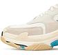 Женские кроссовки Balenciaga TripleS (белые) К11798 кроссы с трехслойной подошвой, фото 6