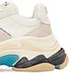 Женские кроссовки Balenciaga TripleS (белые) К11798 кроссы с трехслойной подошвой, фото 8