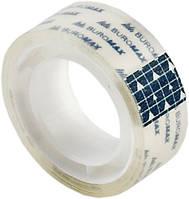 Клейкая лента Buromax 15мм x 10м канцелярская прозрачный скотч (BM.7130-01)