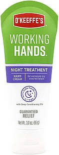 O'Keeffe's Working Hands  ночной уход защитный и восстанавливающий крем для рабочих рук, 85 гр , тюбик