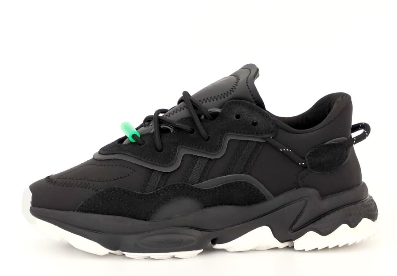Женские кроссовки Adidas Ozwееgо (черный) К12423 спортивная весенняя обувь на пене