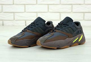 Женские коричневые Кроссовки Adidas Yeezy Boost700