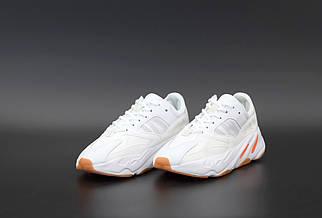 Женские белые Кроссовки Adidas Yeezy Boost700
