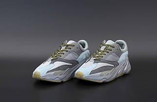 Женские серые Кроссовки Adidas Yeezy Boost700