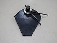 Нож  сегмент роторной  косилки  мотоблок Кентавр,Зубр,Зирка   а