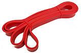 Гума для фітнесу 6-31 кг червона. Гумовий Еспандер для спорту, фото 2