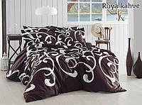 ТМ TAG Комплект постельного белья Ruya kahve
