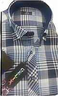 Рубашка мужская классик с коротким руковом-Gelix