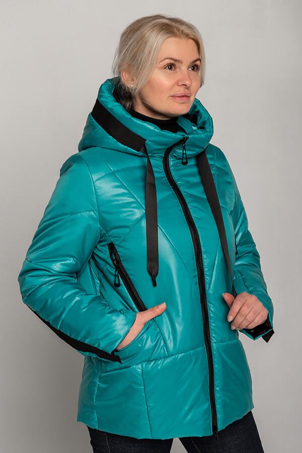 Красивая БАТАЛЬНАЯ демисезонная куртка 46-60 размер 2021