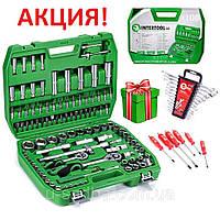 Автомобильный набор инструментов 108 ед. ET-6108SP+набор ключей HT-1203 + Набор ударных отверток 6шт