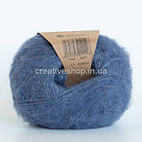 Пряжа Drops Brushed Alpaca Silk (цвет 13 denim blue), фото 2