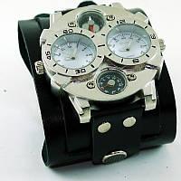 Мужские часы Scappa U-Boat 10 Black Silver
