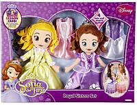 Набор из двух мягких кукол и одеждой. София Прекрасная и её сестра