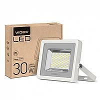 Светодиодный уличный LED прожектор VIDEX PREMIUM 30W 5000K белый