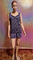 Комплект женский с шортами для сна и дома из очень хорошего качества р 44-58