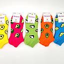 Молодежные короткие цветные носки с принтом Натали 36-41, фото 5