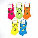 Молодежные короткие цветные носки с принтом Натали 36-41, фото 4