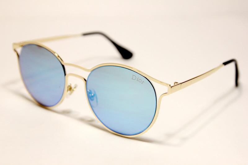 Жіночі сонцезахисні окуляри Діор 5399 C4 репліка Сині